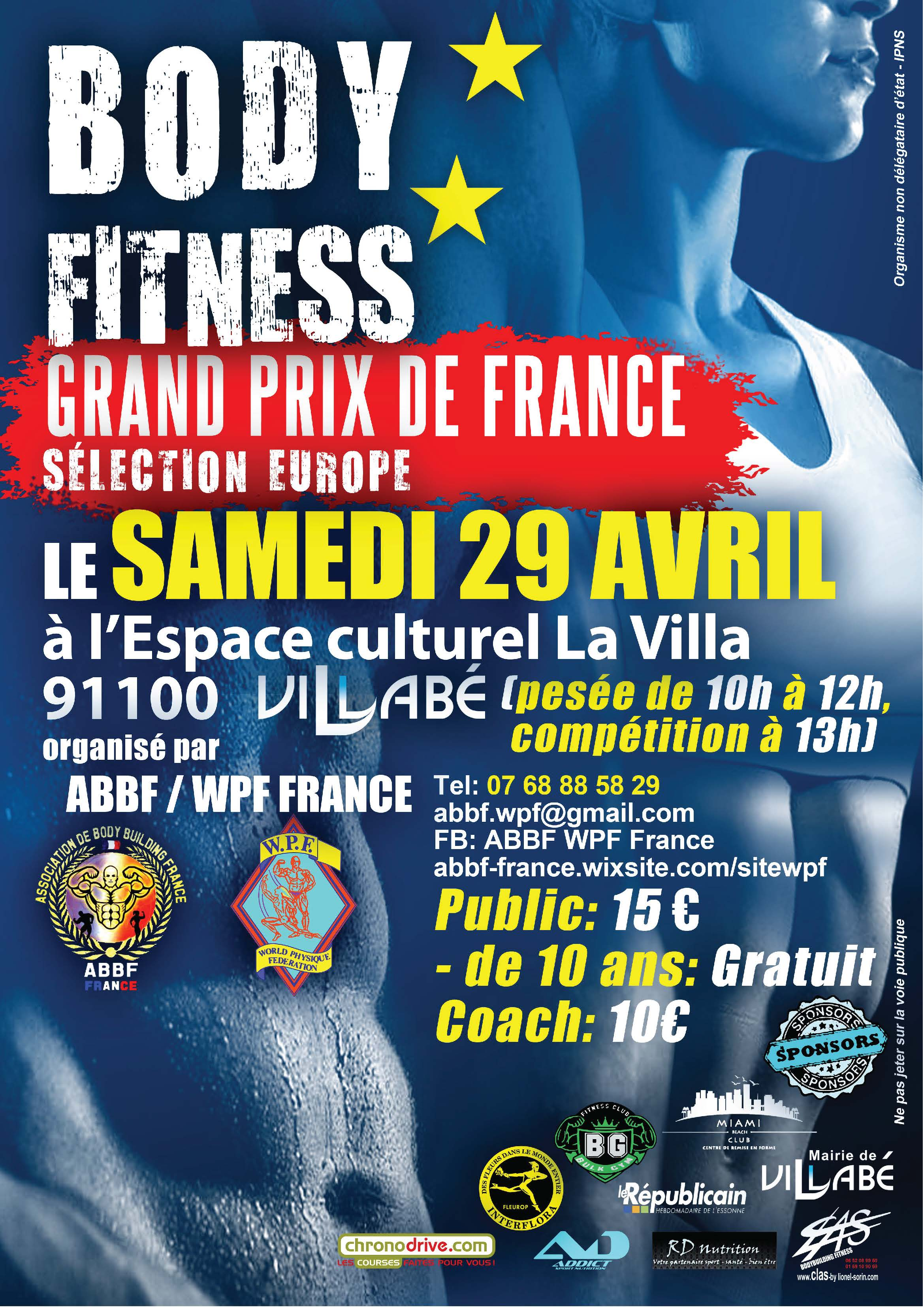 Affiche Fitness 2017 A3 02