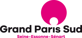 logo grand paris sud noir